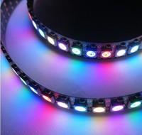 NEW 5 X 1m 144 LEDs/M WS2812B 5050 RGB Chip Black PCB WS2811 IC Digital 5V LED Strip Light