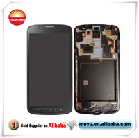 brand brand new for samsung Active s4 i9295  digitizer +lcd screen assembly +frame parts touch pannel with frame