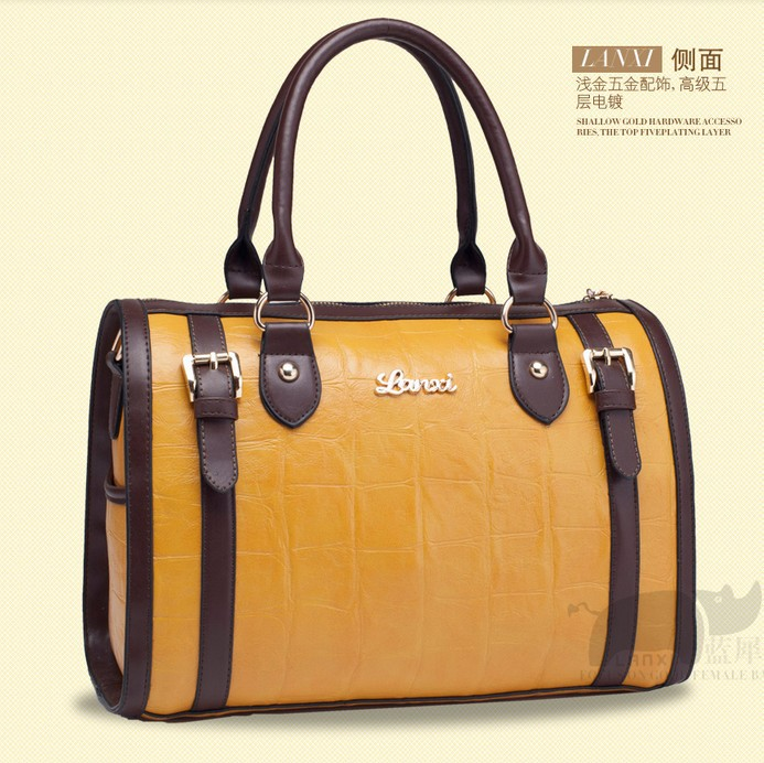 2014 fashion handbags designer Inspired Women Genuine Leather bag Classic totes bag women's vintage messenger bags(China (Mainland))