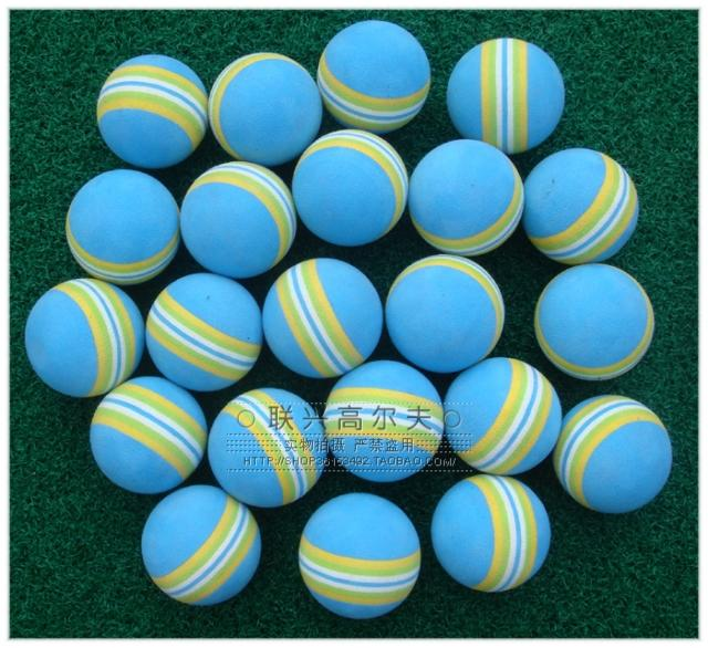 Indoor golf practice ball sponge ball golf ball color(China (Mainland))
