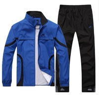 FREE SHIPPING FASHION BRAND MAN SUIT (HOODIE+TROUSERS) SPORT JACKET Sportwear