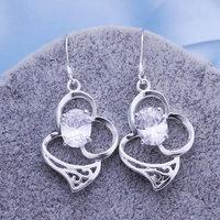Wholesale! Wholesale 925 silver Earrings, 925 silver fashion jewelry, fashion Earrings E258