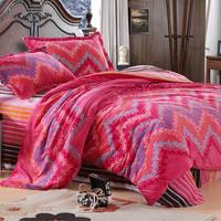 Flannel piece set thermal FL bed velvet four piece set super soft bedding four piece set thickening bedrug duvet cover