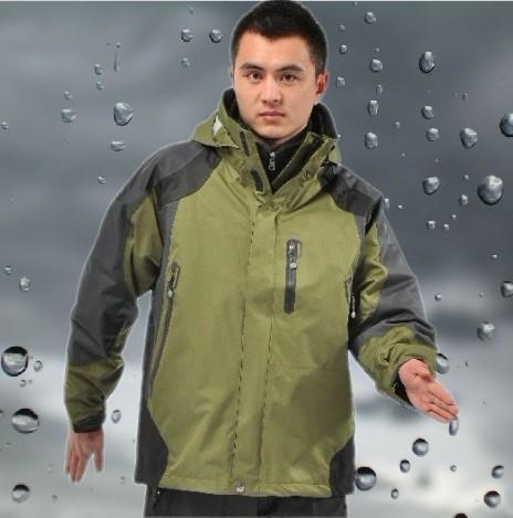 hombres chaqueta de tecnología a prueba de agua 2013 exterior de alta