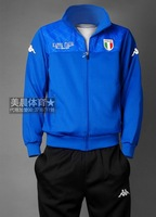 2014 free shipping Sportswear Men's track suit Spring Autumn casual wear track suit male
