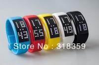 Hot pedometer usb drive 2GB  4GB  8GB 16GB free shipping LED wrist usb flash disk/usb pen with tin box