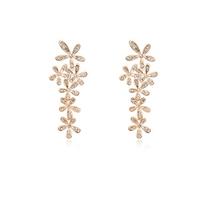 100% Austria Crystal 18k Gold Plated Drop earrings