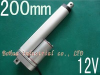 Best Excellent !!!12v,24V 200mm stroke, mini linear actuator, electric linear actuator, thrust 900N,customized stroke