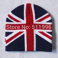 2012 London olympic souvenirs Union Jack ski cap UK Beanie Hat winter hat London acrylic cap free shipping