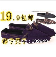 High quality export of the queen of England is flat leisure super comfortable wool leather women shoes