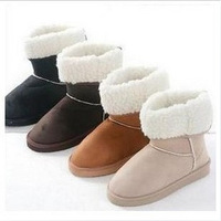 Cotton boots warm eunchai knee-high boots snow boots cotton boots shoes