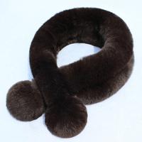 Winter thickening thermal rabbit fur muffler scarf rex rabbit hair scarf fur scarf muffler scarf autumn and winter female rex