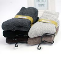 Wool socks male winter thickening thermal socks loop pile socks knee wool cashmere socks