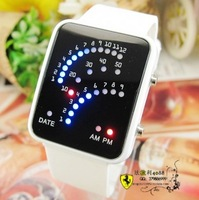 Free shipping Watch male female form fashion watch electronic watch child watch girl boy led table
