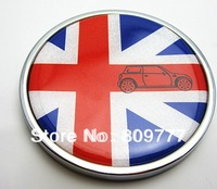 Freeshipping     MINI COOPER Emblem Badge Logo Decal Sticker   Front grill  Metal  No.H