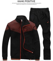 free shipping hot sale Sport suit lovers sportswear jackets casual sportswear two piece set