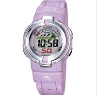 Free shipping Child accustoming girl sports waterproof led fashion female child watch