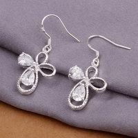 Men's jewelry / 925 silver fashion Earrings, free shipping,factory price, 925 silver Earrings jewelry E263