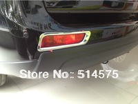 2013 2014 Mitsubishi Outlander 13 14 Rear Tail Fog Light Lamp Cover Trim 2pcs Free Shipping!