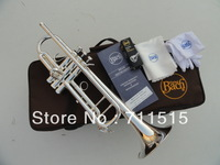 BachLT180S-37 small instruments surface silver brass instruments Bb trumpet