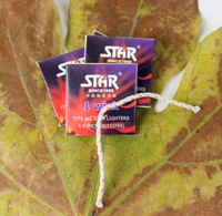 30 Pieces Oil Lighter Wicks Brand STAR 115mm Wick High Quality 4.5 Inches Kerosene Lighter Wick Fit All Oil Lighters
