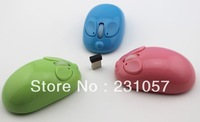 10pcs/lot Portable Optical Wireless Mouse USB Receiver RF 2.4G For Desktop & Laptop PC Computer