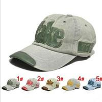 2013 Hot TAKE Kids Baseball Cap Snapback Fashion Leather Decorate Denim Children Casual Hat 5 Colors For Choose