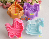 4Pcs Baby Style Cutter Cookie Fondant Cake Mold