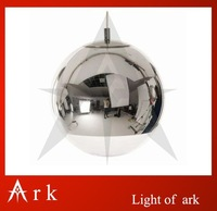EMS Free Shipping Wholesale Single 35CM Mirror Ball Lamp Best Selling Modern Pendant Light By TOM DIXON ALSO HAS 25CM,20CM