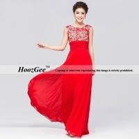 2014 new arrival A-line hollow design scoop tank  floor length host dress formal dress evening dress HoozGee 23846
