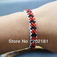 Free shipping WM-019  1CM COTTON  woven bracelet  Fashion jewelry handmade weave rope string friendship bracelets