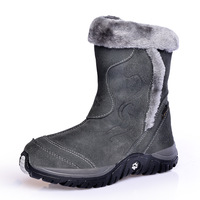 2013 full genuine leather child snow boots girls shoes real fur thermal parent-child shoes child boots 26 - 40