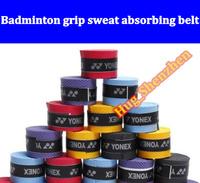 Badminton grip sweat absorbing belt flat overwraps 6pcs/lot free shipping