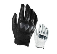 2014 NEW Cycling Bike Bicycle gloves Motorcycle Gloves riding glove leather perforated carbon fiber Racing Bomber S Gloves