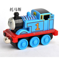 Free Shipping Thomas & Friends Metal Train Toy Steam train tracks bauble birthday Gift kid present Mike Magnetic force TY006