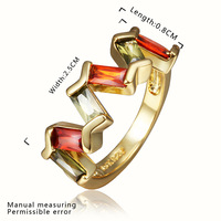 New Arrival 18K Gold Plated Ring,Fashion Jewelry Ring,18K Rhinestone Austrian Crystal Ring Men Women Wedding Rings SMTPR451