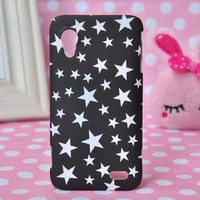 10 Special Patterns Flower Colorful Cartoon Graffiti Matte Hard Case For Lenovo S720 Skin Cover Back Protector +Free Screen Film