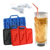 Gun Freeze Party Bar Ice Mould Jelly Chocolate Mold Cube Cake Cookies Maker Tray