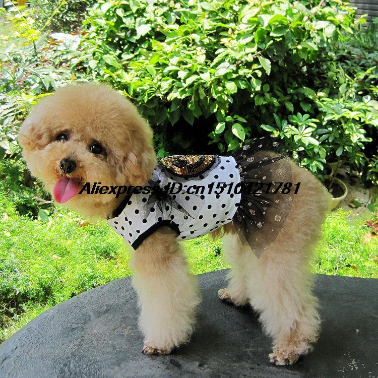 2013 new pet clothes, pet supplies pet dog summer clothes cute little skirt smile(China (Mainland))