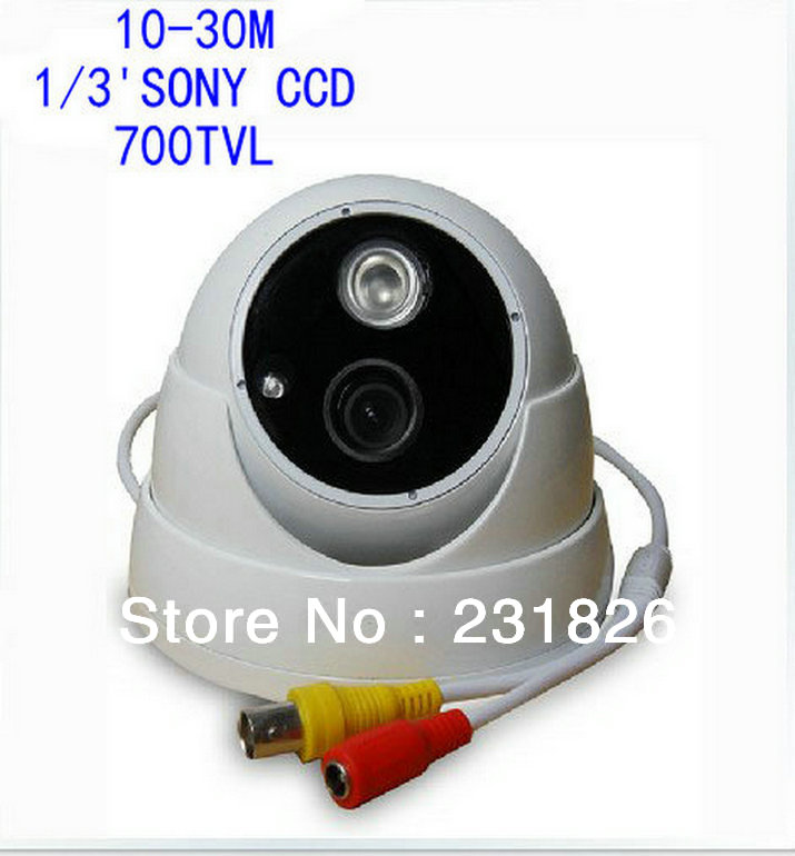 Professional manufacturer 10-30M array infrared night vision camera hemispherical probe 700 line HD 4140()