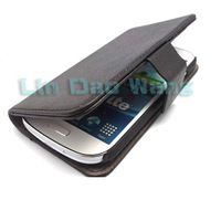 Wallet Leather Case Cover Pouch + Film For Samsung Galaxy Express i8730