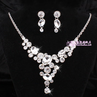 Crystal bridal necklaces & pendants,vintage wedding jewelry sets,fashion pendant necklaces 2013 women sn67