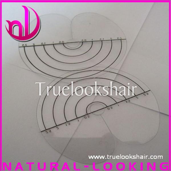 50 pcs/lot круг хорошая легко инструмент тепловые щиты для наращивания волос инструмент