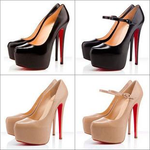 Big Size 34-40 New 2013 Fashion Red Bottom Platform Lady Sexy Ultra High Heels Wedding Shoes Woman Dress Shoes Women Pumps(China (Mainland))