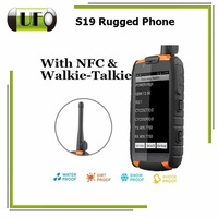 Original 4 Inch Quad Core Wifi 3G GPS Navigation Outdoor Walkie Talkie Andriod Profesional IP67 Waterproof S19 Rugged Phone