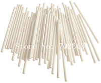 "4""(10cm) Paper Sticks for Cake Pop Lolipop Mini Cupcake Muffin 100pcs/lot"