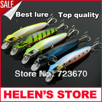 New arrival 11cm/16g  9 segments fishing minnow hard lure red head free shipping