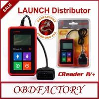 New 2014  Creader IV+ car universal code scanner CReader IV Plus Tools Electric obd2 Auto Diagnostic Tool