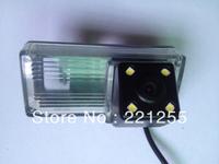 Free shipping  TOYOTA LAND CRUISER hd ccd+led car Waterproof camera