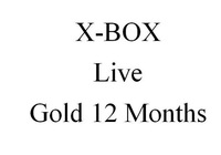 LIVE 12 Month Gold Membership for xbox  World Wide Delievery